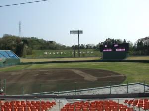 いわきグリーンスタジアム 2008年撮影