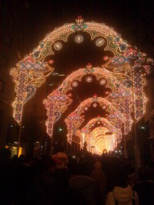 神戸ルミナリエ歩いていくと・・・